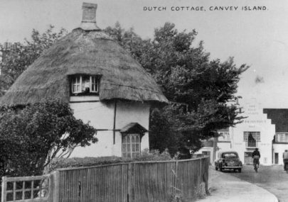 Dutch Cottage and King Canute