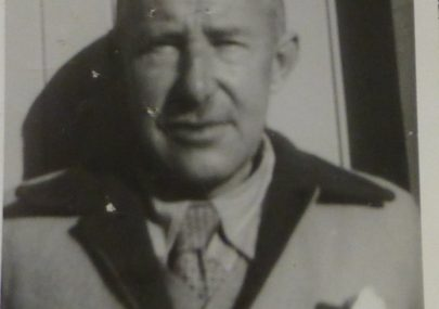 Captain Gregson in later years