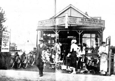 William Lewis Money's Shop c1939