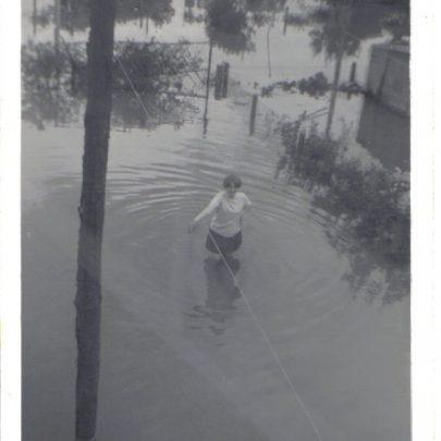 Maple way during the 1968 flood | Eddie clarke