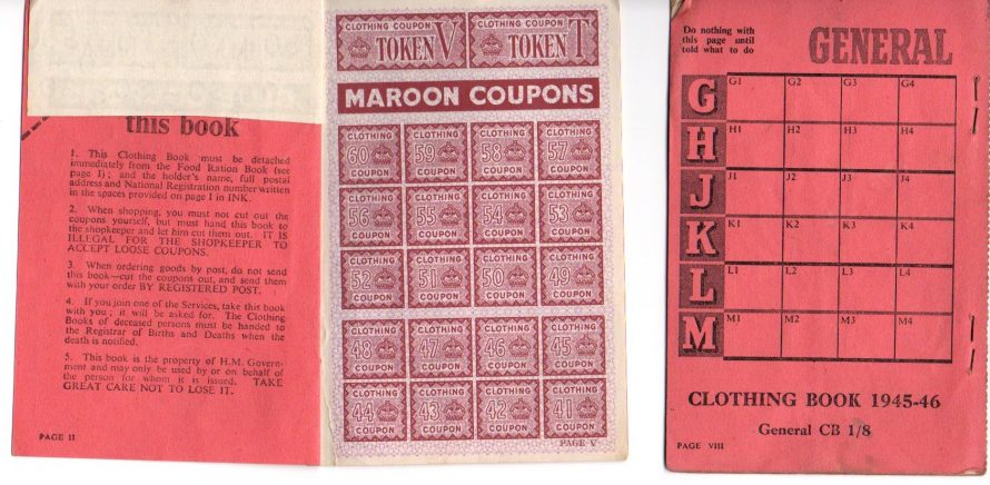 Clothing Coupons | Courtesy of Margaret May