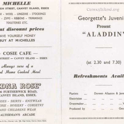 Georgette's Juveniles 'Alladin' Program - Michelle Woodhouse was Aladdin