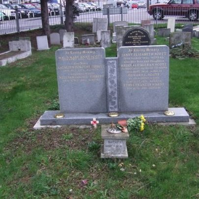 Scott Family Grave St Katherine's