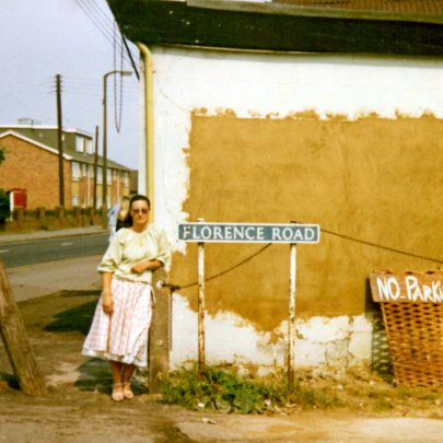 Me standing by Florence Road 70's or early 80's