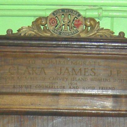 The inscription on the chair | Janet Penn