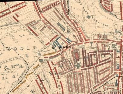 Charles Booth's Poverty maps 1898-99