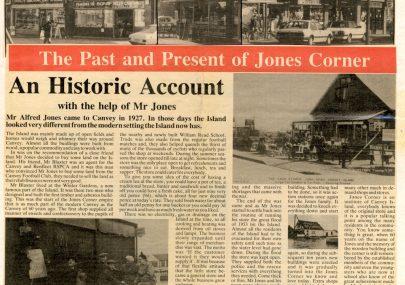 The Past and Present of Jones Corner