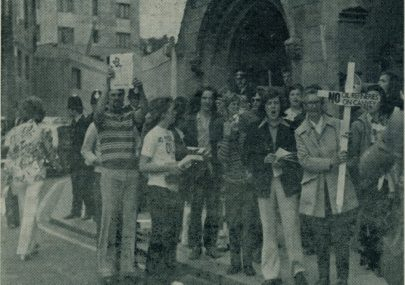 Canvey Demonstration in London 1973