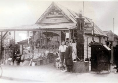1 - Hooton's Stores and surrounding area