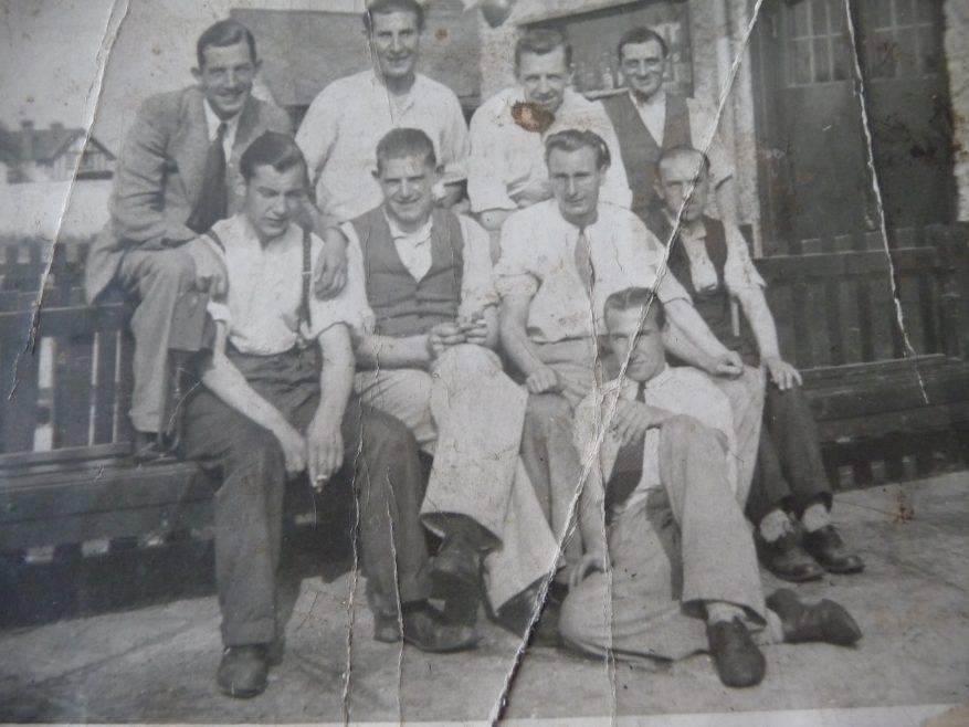 Haystack staff c1938 | Nadine Licence