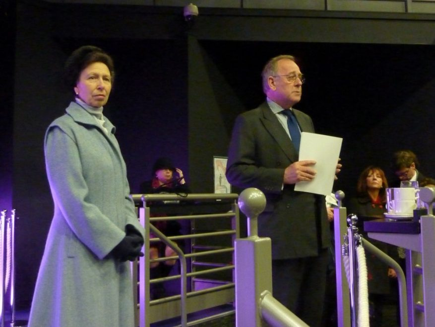 Princess Anne with the Chairman of Essex County Council | Nick Strugnell