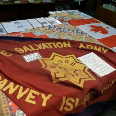 Salvation Army flag | Janet Penn