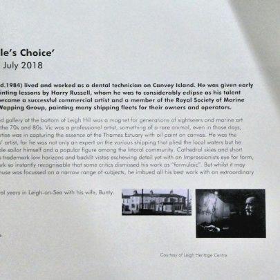 Vic Ellis - The People's Choice Exhibition