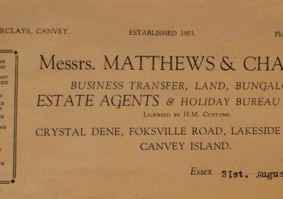 Matthews and Charles Letterhead