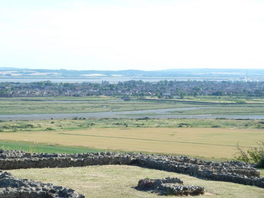 Canvey from Hadleigh Castle