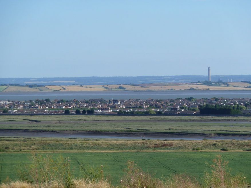 The view of Canvey from Hadleigh Castle | Chris Penn