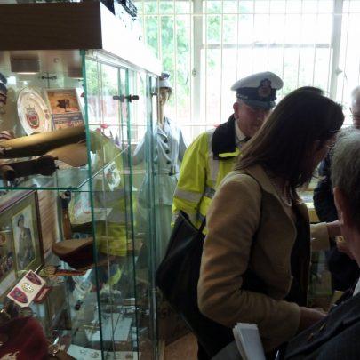 Gary Foulger, MP Rebecca Harris and Ray Howard | Janet Penn
