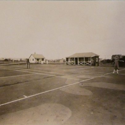 Tennis Court   Courtesy of Douai Abbey Library and Archives
