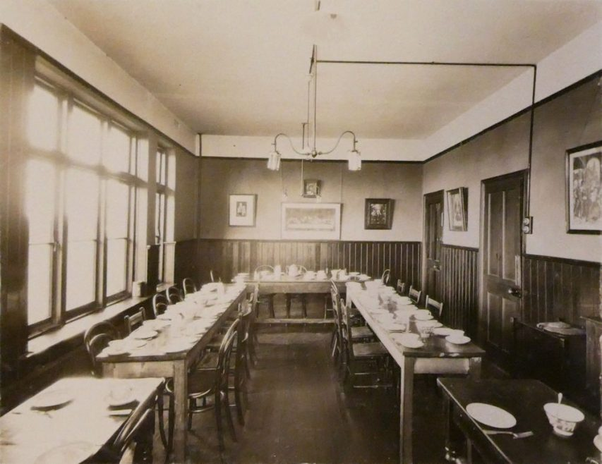 Inside the Refectory | Courtesy of Douai Abbey Library and Archives
