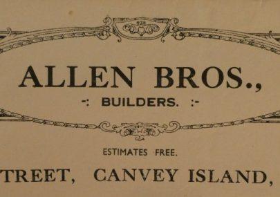 Allen Bros. Builders Letterhead