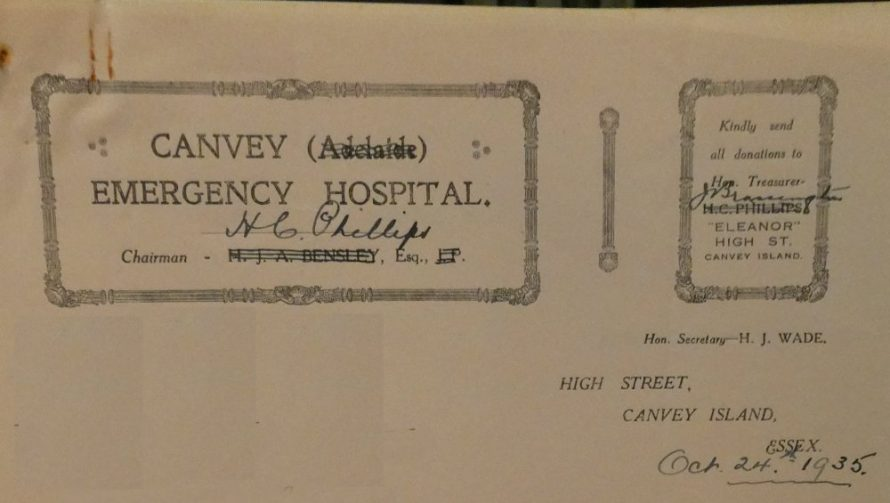 Canvey Emergency Hospital