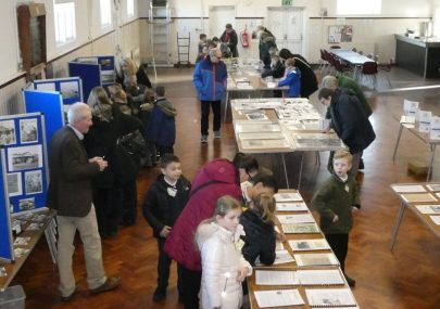 Busy Day at Our Flood Exhibition