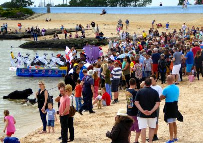 Canvey Rotary's Raft Races