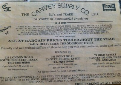 The Canvey Supply Company