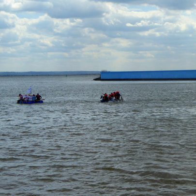 Canvey Rotary's Raft Race 2015