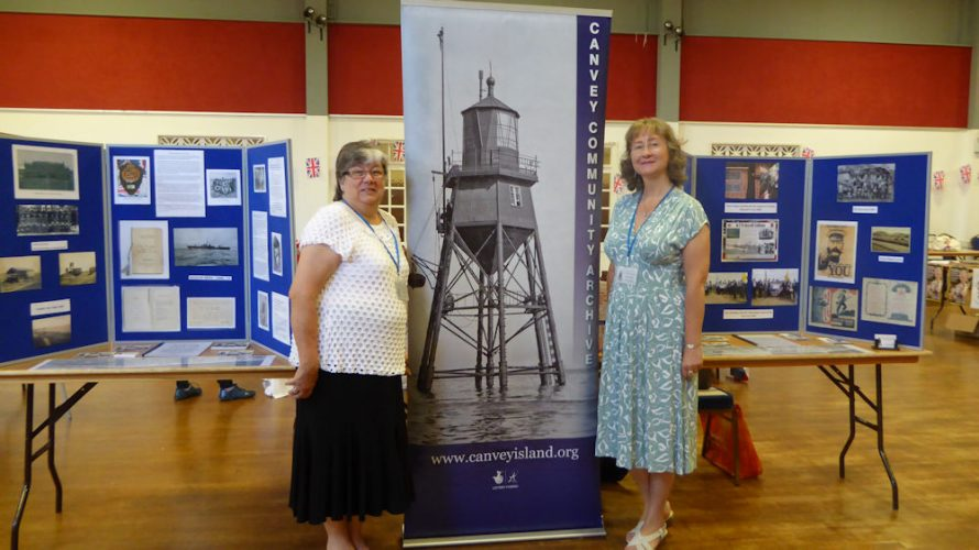 Canvey Community Archive were set up in the Paddocks with Carol Revell and Janet Walden | Janet Penn