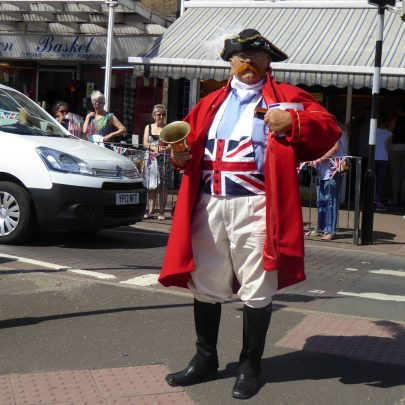 The Town Crier comes to tell us the parade is on its way | Janet Penn