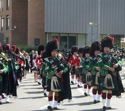 Sutherland Pipes and Drums | Janet Penn