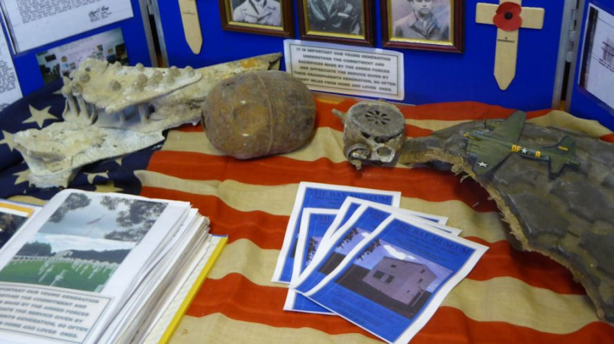 B17 Exhibition in the Heritage Centre