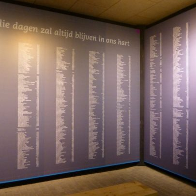 The wall of names of the dead | Janet Penn