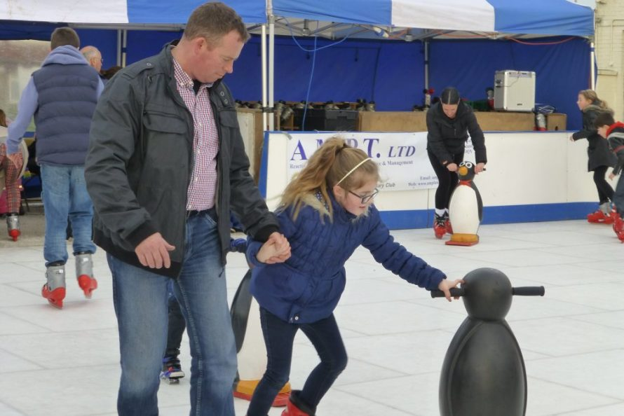 Ice Rink Comes to Canvey | Janet Penn