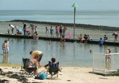 Canvey's Tidal Pool is at last finished