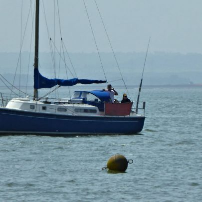 The buoy is set