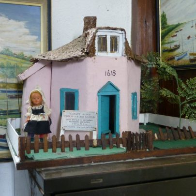 Model of the Dutch Cottage | Janet Penn
