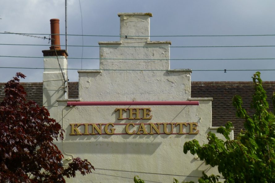The King Canute | Janet Penn