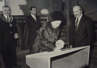 Princess Margaret's visit to Prouts 1984