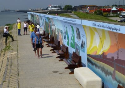 Seawall Flood Mural