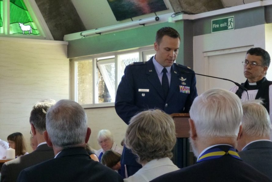 A reading by Lt Col Jason Roberson of the US Air Force | Janet Penn
