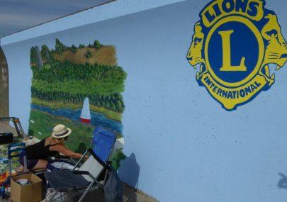 Castle Point Lions Mural