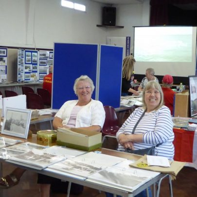 Our shop with Lesley and Sue
