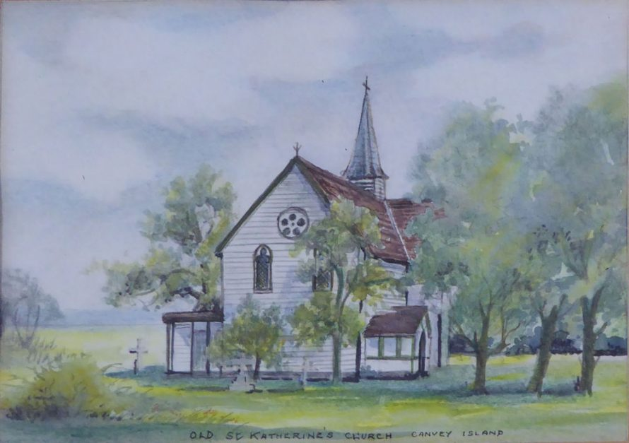 Lovely Watercolour of St Katherine's