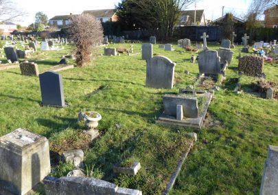 St Katherines Churchyard Grave Plots