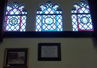 Window Dedicated to Rev. John Fleetwood