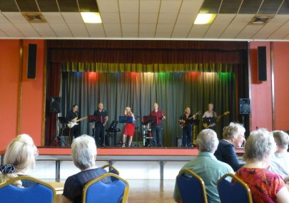Free Spirit entertaining Canvey U3A