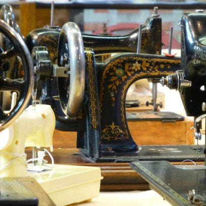 Nautical and Sewing Machines