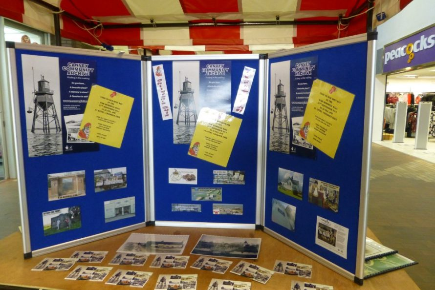 Showing our display about our openday and all the groups who have been invited to join us on the day. | Janet Penn